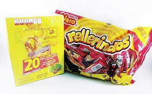 Pack of Pulparindots and Rellerindos Authentic Mexican Candy 85-pcs deal