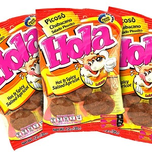 3-bags Hola Plum Picosito Hot & spicy Flavor