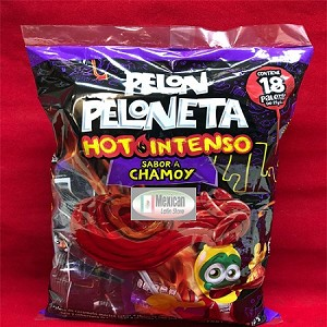 Pelon Peloneta Hot Intenso Chamoy Flavor 18-ct 13-oz bag