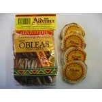 Aldama Mini Oblea Con Cajeta (Milk Candy Wafers) Case 32x20pcs
