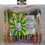 Paletas con saladito surtida ( Hard Lollipop with plum chili assorted) flavor  25pcs bag