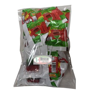 15-pcs Vero Sandi Brochas Rellenas polvito enchiloso 8-oz single pops bag