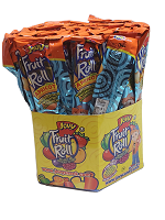 Jovy Fruit Roll Apricot flavor 48-ct  (Durazno)