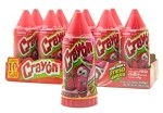 Lorena Crayon Fresa (strawberry) Soft Candy 10ct