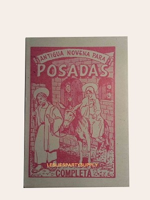 3 Libritos para pedir POSADA  ( 3-Book for holiday season)