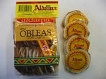 Aldama Mini Oblea Con Cajeta (Milk Candy Wafers) 20pz