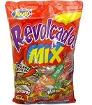 Case-Jovy Revolcados Mix bag w/chili Assorted candy 5/5