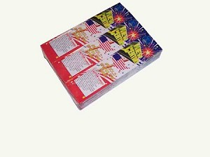 12pack New Century #8 Gold Sparklers Wire Fireworks ( Wire Frame ).