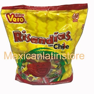Vero Risandias con chile (Watermelon with chili) 40-ct