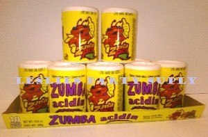 Zumba Pica Acidin spicy chili mix Powder (24 X 10pcs) Case